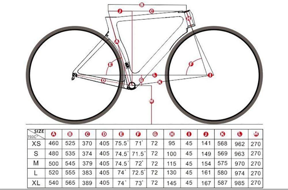 ASDFGG-bike Cuadro de Bicicleta de Carretera Cuadro de Bicicleta ...
