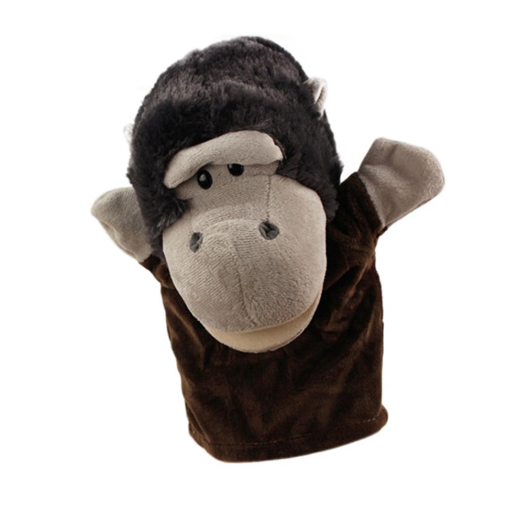 Handpuppe Hand Spielzeug Puppe Tiere Fingerpuppe Play Story Spielzeug A BZLine Fingerpuppen