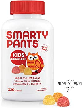 120-Count SmartyPants Kids Complete Daily Gummy Vitamins