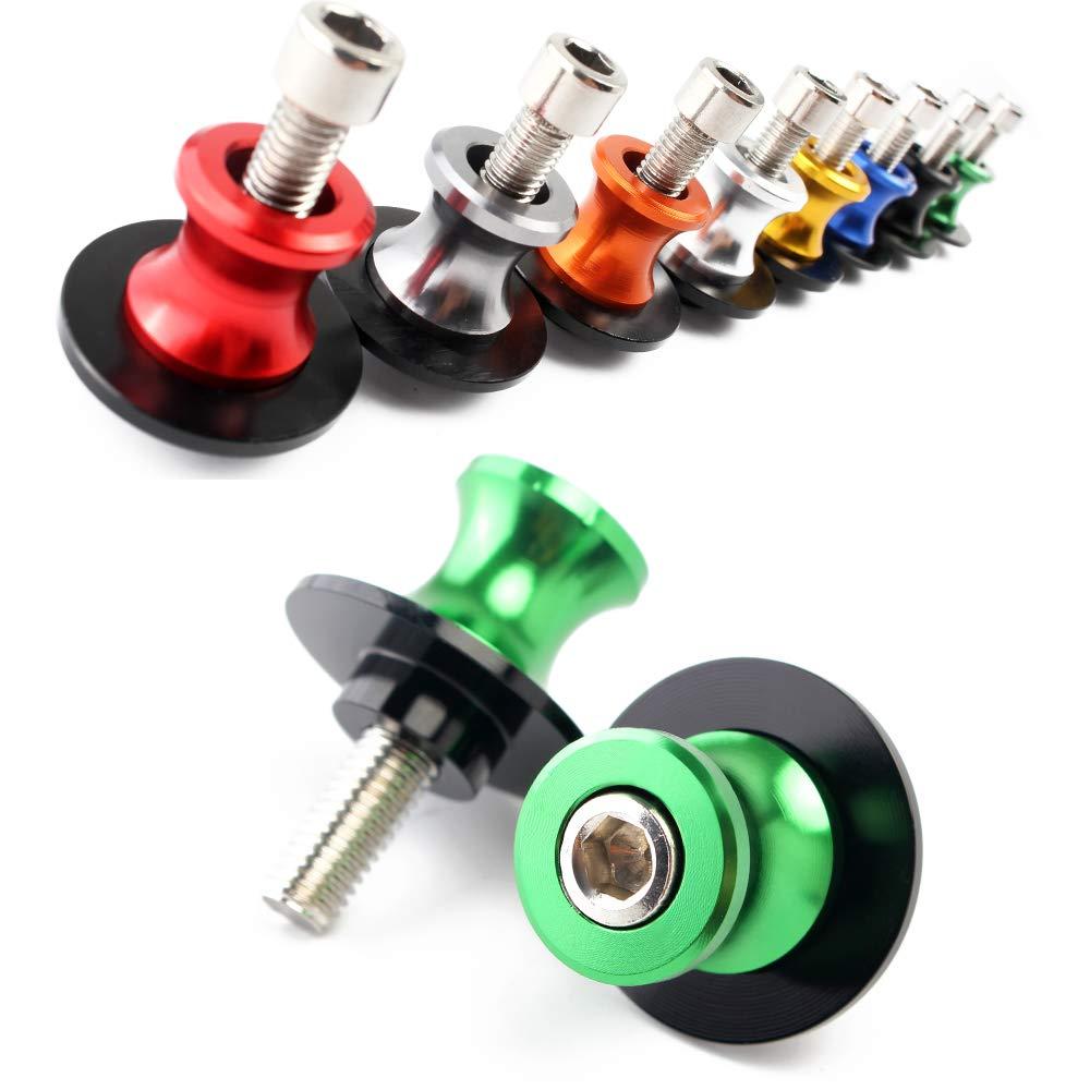 10mm Assen Swingarm Spool Screw M10 f/ür DUKE 125 200 990 DUKE125,KAWASAKI NINJA Z750 Z750R Z250 Z1000 250 300 650 KAWASAKI Schwarz