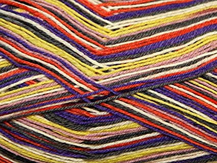 Sirdar Heart & Sole Ovillo de lana para tejer calcetines, 4 capas, 100