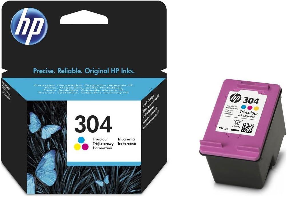 HP 304 N9K05AE cartucho color DESKJET 3720: Amazon.es: Electrónica