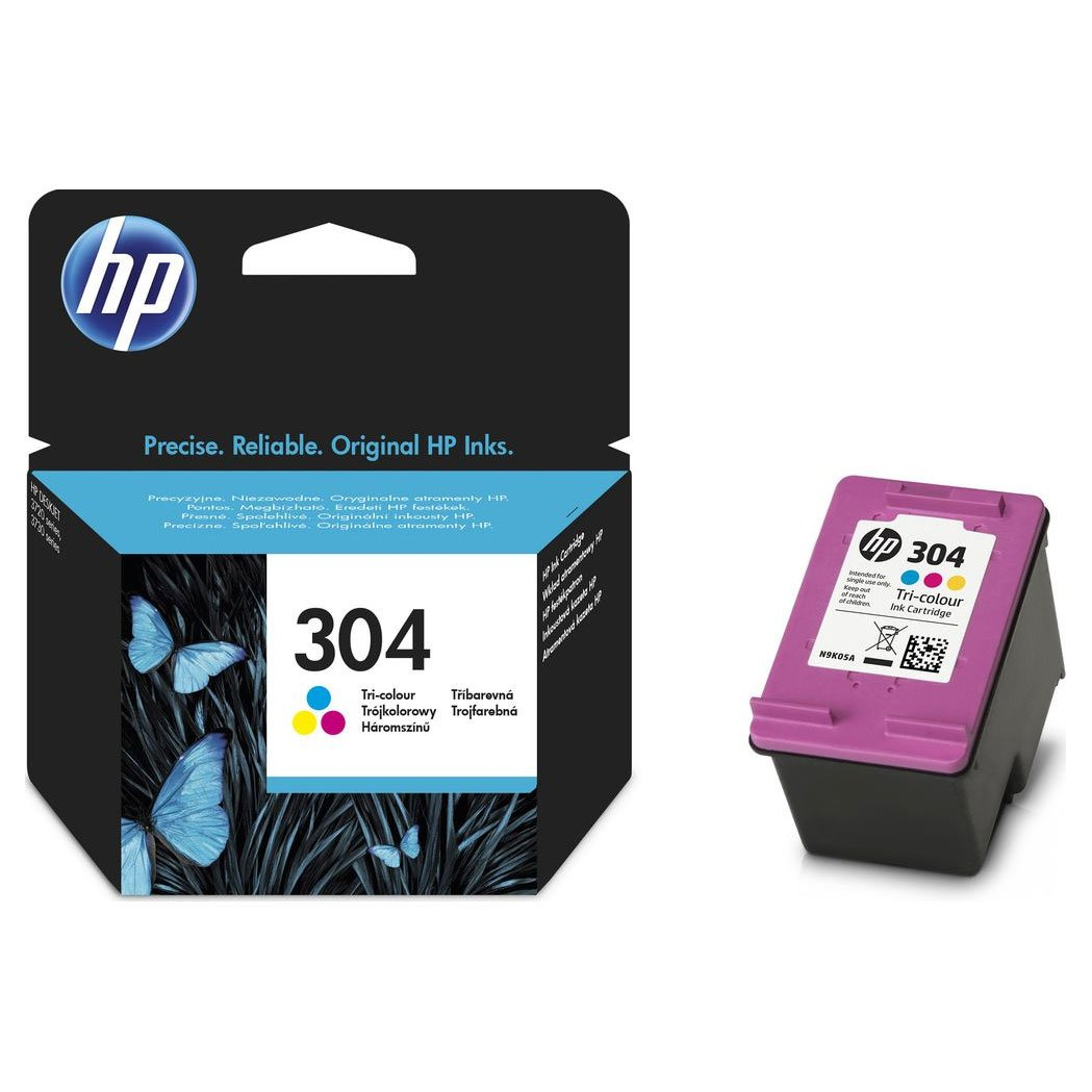 HP 304 N9K05AE cartucho color DESKJET 3720: Amazon.es: Electrónica