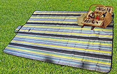"Sorbus® Portable Handy Mat with Handle for Beach, Picnic, Camping, or Any Outdoor Activities Extra Large Measures 60""x78"""