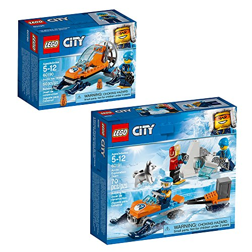 LEGO City Arctic City Arctic Expedition Building Kit, Multicolor