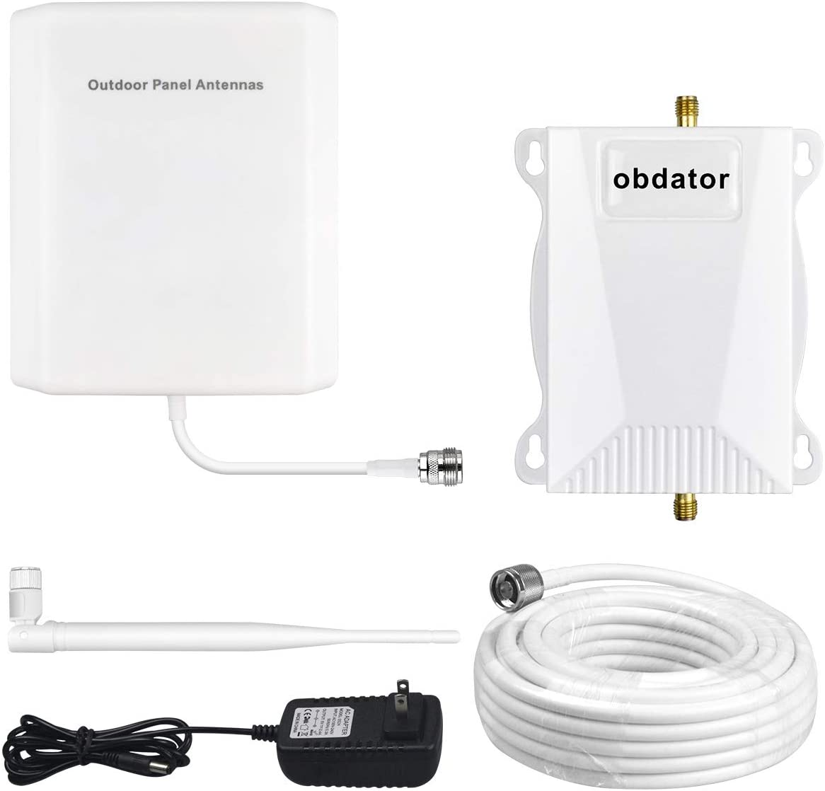 Verizon Cell Phone Signal Booster 4G LTE Cell Booster High Gain 65dB obdator 700Mhz Band 13 Mobile Phone Signal Booster for Home and Office