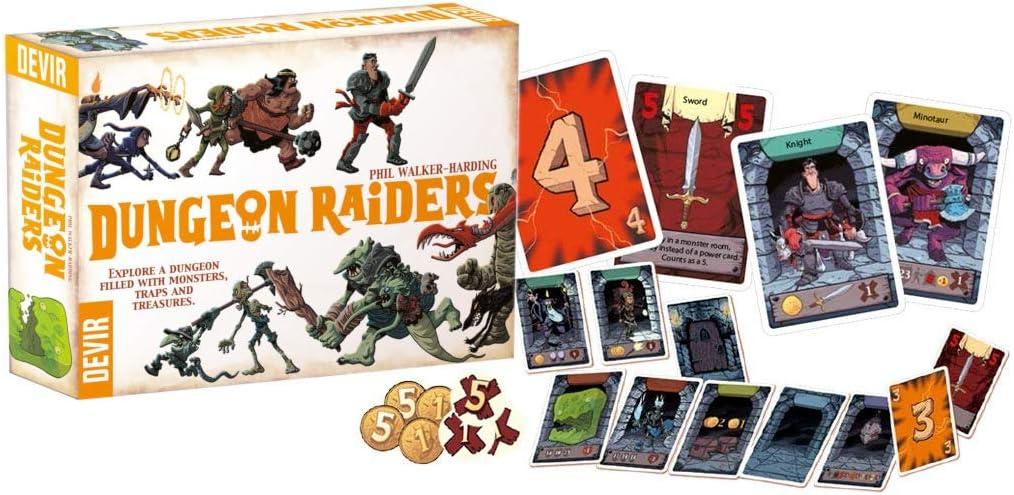 Devir BGHRAIEN Dungeon Raiders, Multi: Amazon.es: Juguetes y juegos