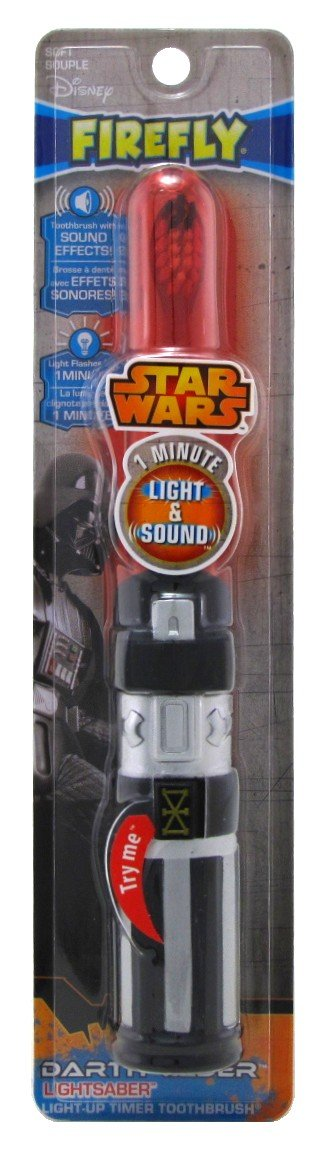 Firefly Toothbrush Star Wars Darth Vader 1-Minute Timer (2 Pack)