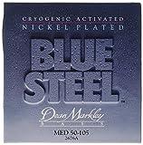 Dean Markley Blue Steel 2676A NPS Bass Guitar Strings, Extra Medium, 4-String, 50-105
