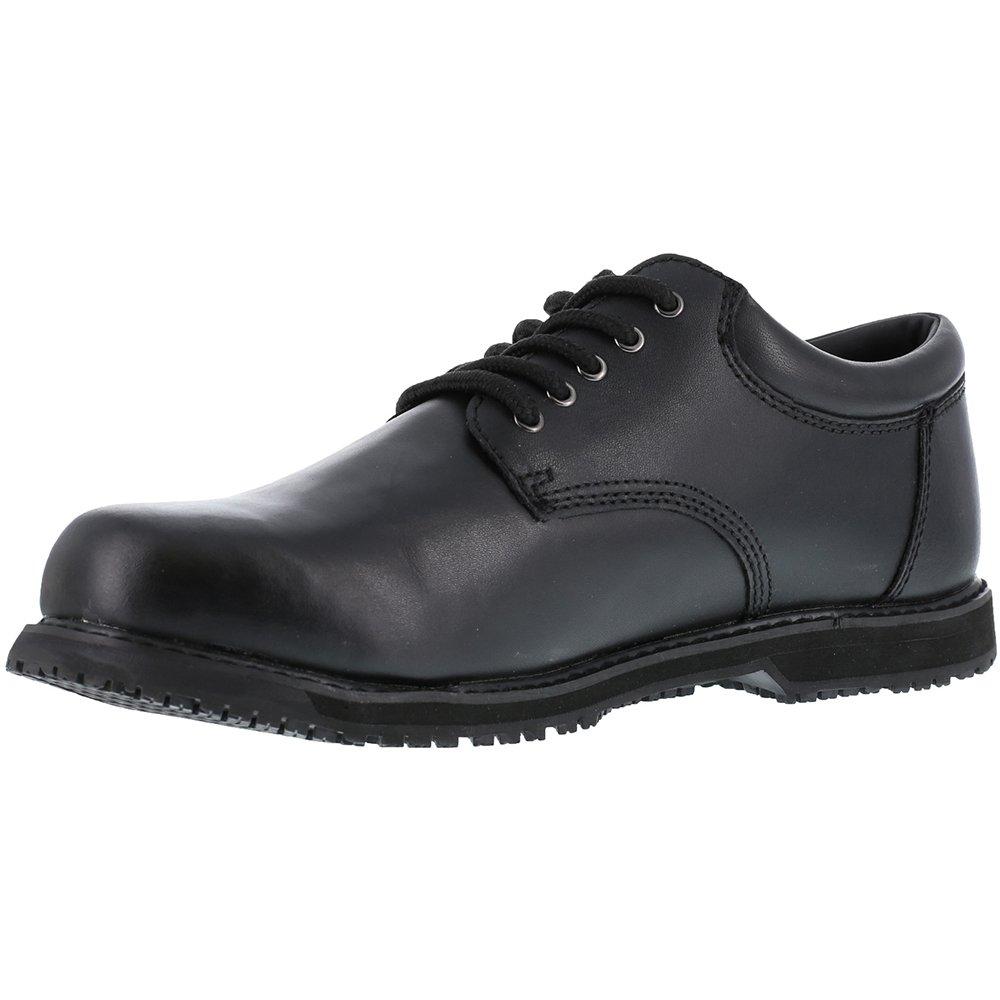 Grabbers Men's 4.5 Friction G1120 Work Shoe B000LANAB0 4.5 Men's D(M) US|Black Leather 29148b