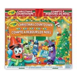 Crayola Christmas Countdown Activity Advent Calendar, Gift for Boys and Girls, Kids, Ages 3,4, 5, 6 and Up, Holiday Toys, Arts and Crafts