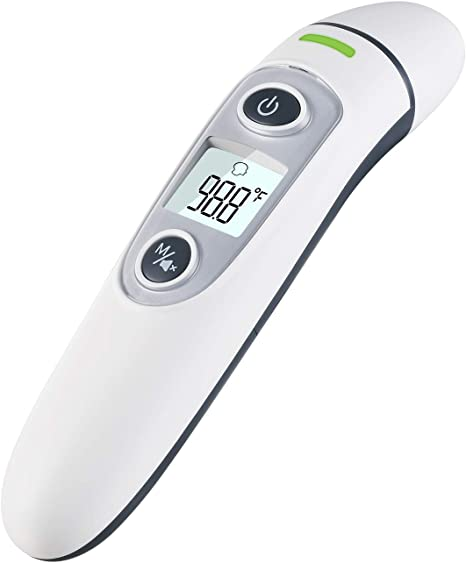 Digital Thermometer Adult Baby Infrared IR Forehead Ear Body Temperature Medical