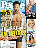 HOLLYWOOD S HOTTEST BACHELORS ISSUE l Joe Manganiello l Zac Efron l Ryan Gosling l Taye Diggs l Scott Eastwood - July 14, 2014 People