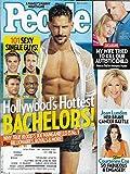 HOLLYWOOD'S HOTTEST BACHELORS ISSUE l Joe Manganiello l Zac Efron l Ryan Gosling l Taye Diggs l Scott Eastwood - July 14, 2014 People