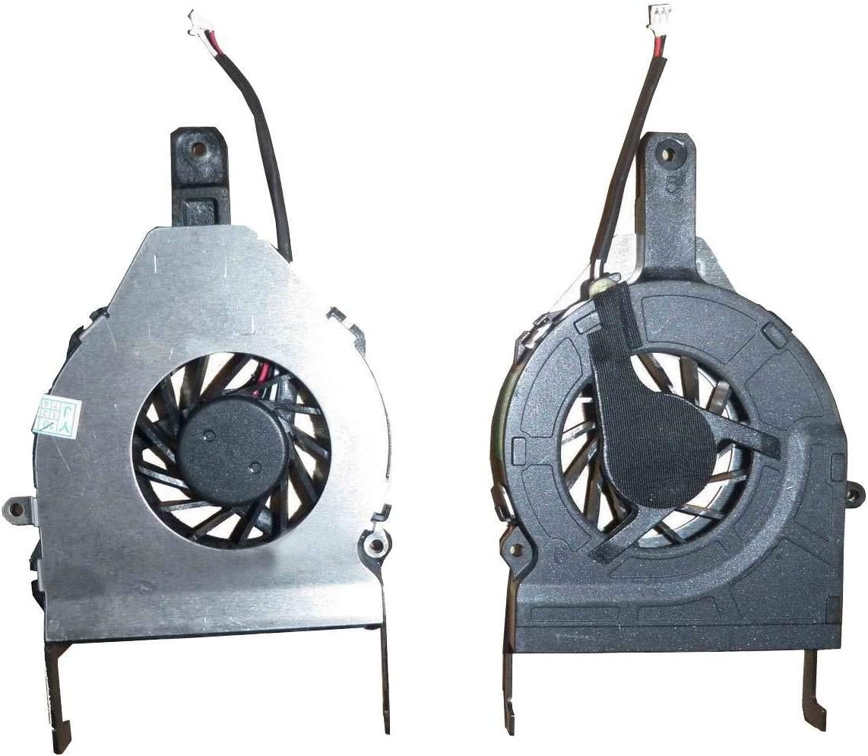 wangpeng Replacement Fan for Gateway M-6750 M-6801M M-6810M M-6823 M-6854M M-6885 Series CPU Cooling Fan 3-Pin 3-Wire