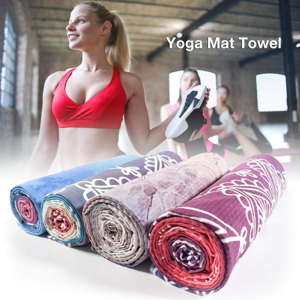 Outdoor Sports Sports Extremely Lightweight Portable Foldable Fitness Non-Slip Travel arthomer Upgraded Microfiber Yoga Towel For Yoga Super Sweat Absorbent