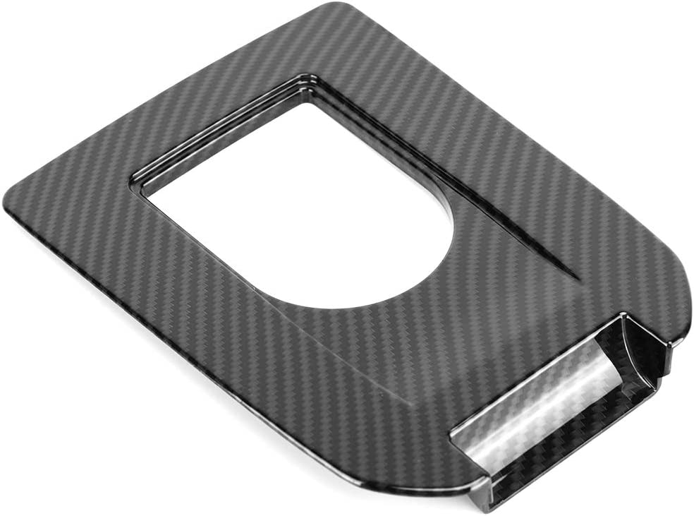 Carbon Fiber Style Car Gear Shift Panel Trim Cover Frame for Discovery Sport 15-18 Gear Shift Panel Cover