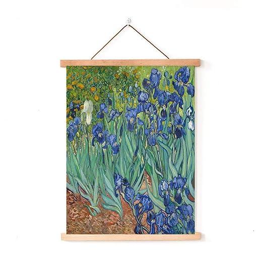 mmzki Van Gogh Oficina en casa Pintura algodón y Lino ...