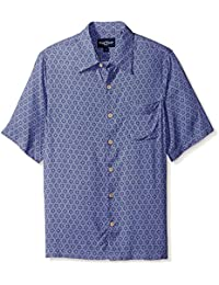 Men's Geo Print Short Sleeve Shirt
