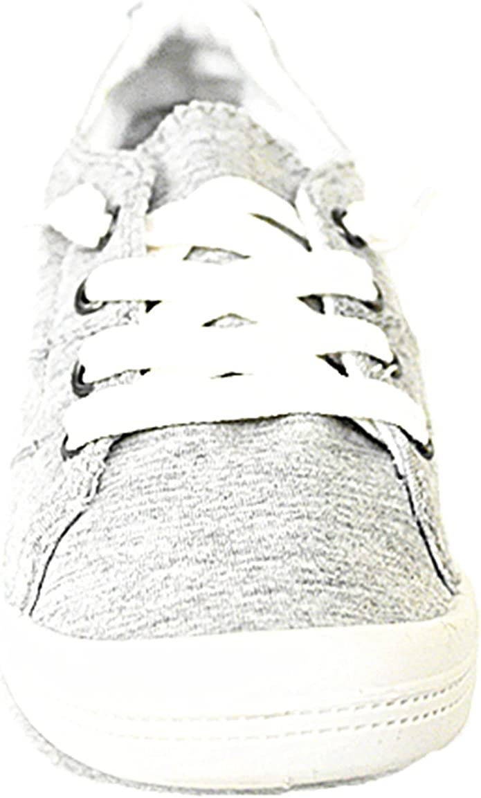 9, Beige-01 Forever Link Comfort Womens Lace up Casual Street Sneakers Flat Shoes