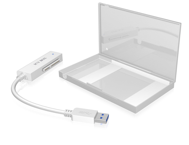 IB-AC6034-U3 Adapter + etui 2, 5'' HDD 5'' HDD ICY BOX