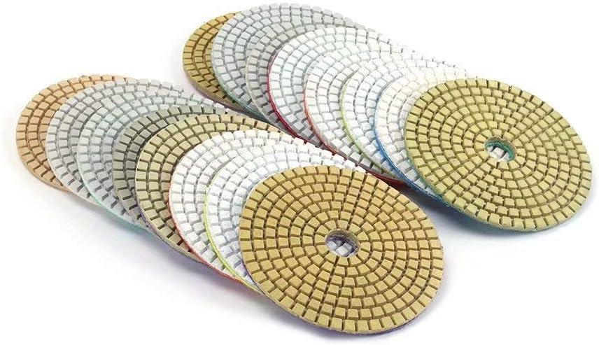 K/örnung 30 1 x 80 mm Diamant-Polierscheibe f/ür Granitstein 8000,6000# 1Pc