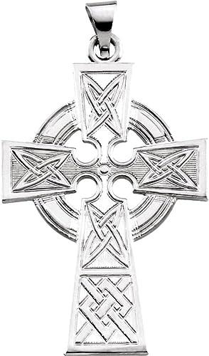 FB Jewels 925 Sterling Silver Crucifix Pendant