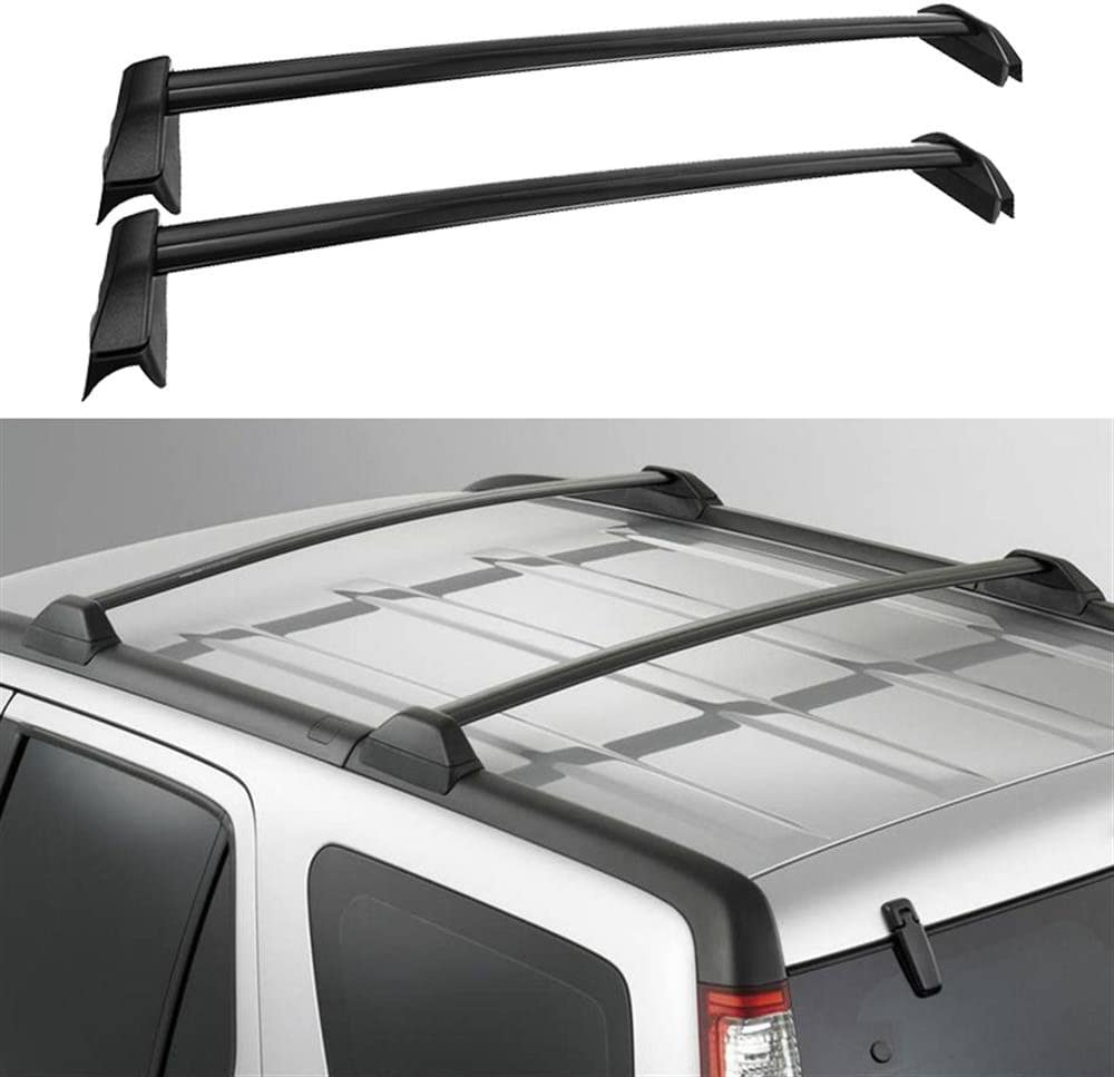 Amazon Com Auxmart 2 Pcs Roof Rack Cross Bars Crossbars Compatible For Honda Cr V 2002 2003 2004 2005 2006 Oe Style Aluminum Rooftop Rail Bars Luggage Rack Cargo Carrier Black Automotive