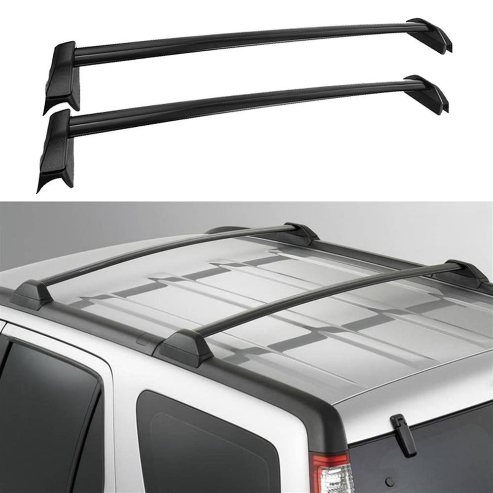 Auxmart Roof Rack Cross Bars For 2002 2006 Honda Crv 2012 Cr V Trailer Wiring Harness 60kg 132lbs Capacityonly Models With Existing Side Rails Automotive