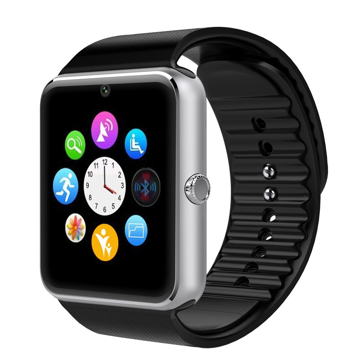 CNPGD Bluetooth Smart Watch(Partial Compatible for IOS IPHONE)+(Full Compatible for Android smartphone) Samsung, LG, Galaxy Note, Nexus, Sony+Unlocked Watch ...