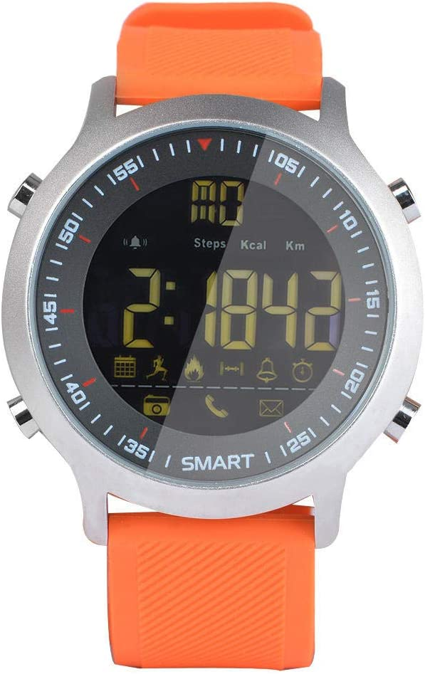 NFGGLM Pulsera Inteligente Buceo Profesional Reloj Bluetooth Información del Teléfono Empuje Movimiento Global Naranja: Amazon.es: Hogar