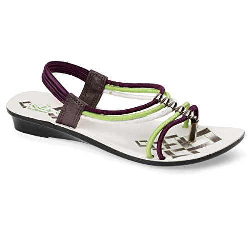 e77b210838c1 PARAGON SOLEA Women s Purple Sandals  Buy Online at Low Prices in India -  Amazon.in