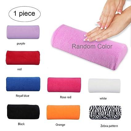 Xiton 1 UNID Cojin Manicura Expositor Uñas Suave Reposamanos Almohada Lavable Nail Art Almohada Cojín Desmontable Descanso de Brazo Cuidado de ...