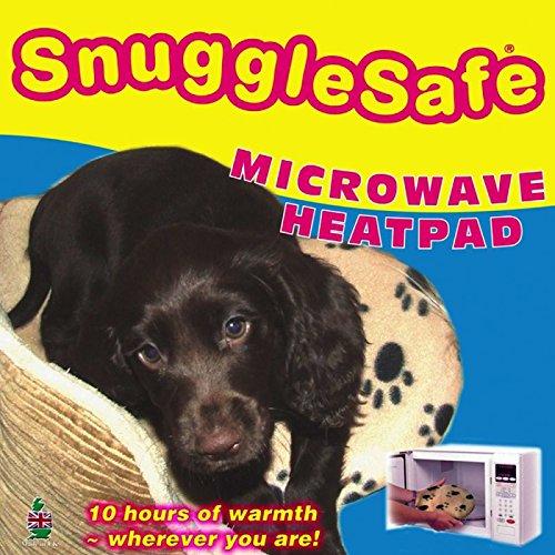 wangado - cojín térmico SnuggleSafe especial, térmico, calentador, para caseta para perros, gatos, roedores calentable en microondas, calor que dura horas ...