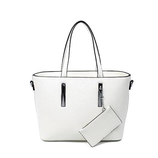 8bdf3948a9e4d OBC Damen Business Tasche Shopper Workbag Schultertasche Umhängetasche  Handtasche Henkeltasche Altrosa  Amazon.de  Koffer