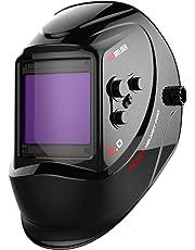 1* Solar Auto Darkening Helmet Eyes Protective Welder Goggles Solder PC ABS