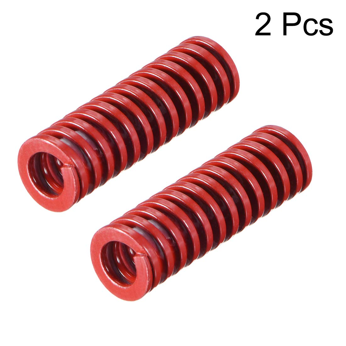 uxcell 8mm OD 20mm Long Medium Load Compression Mould Die Spring Red 10pcs
