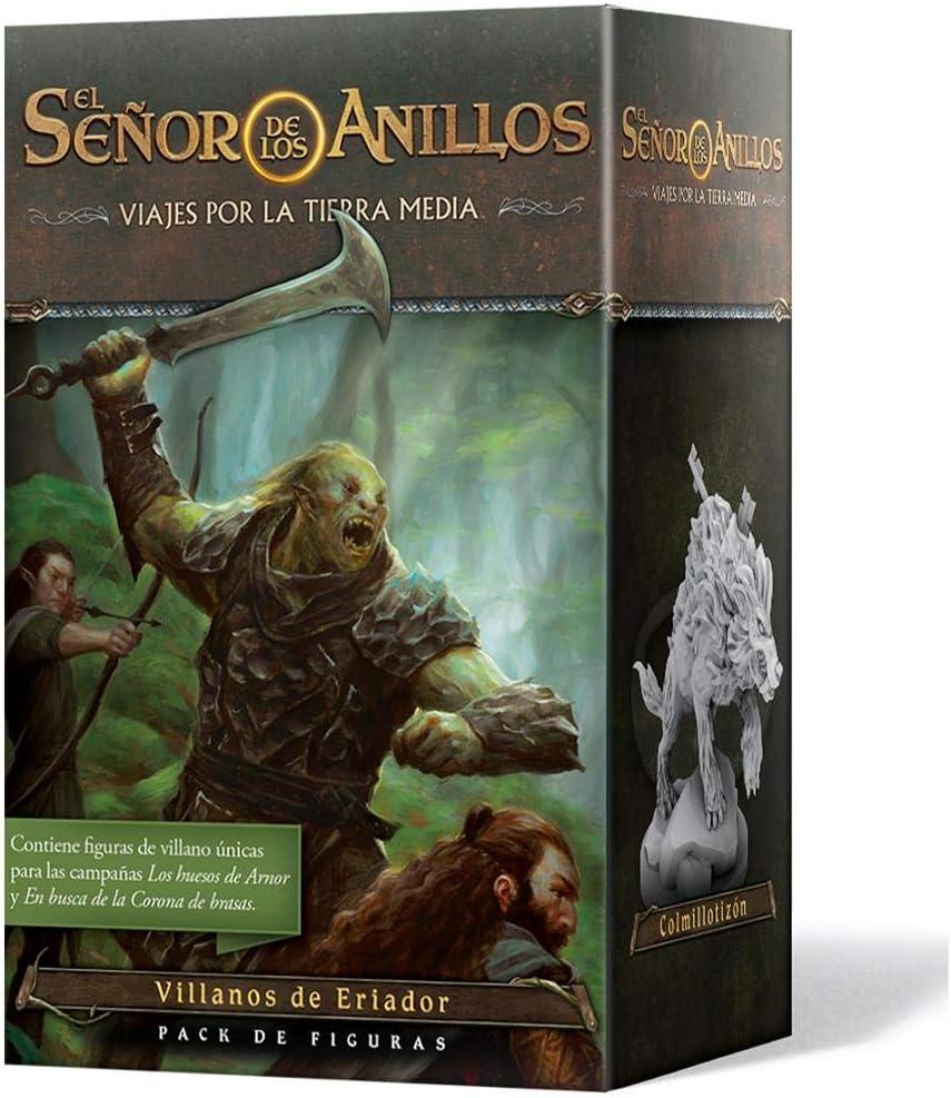 Fantasy Flight Games-El Señor de los Anillos: Viajes por la Tierra Media-Pack de Figuras Villanos de Eriador, Color (JME04ES): Amazon.es: Juguetes y juegos
