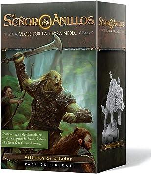 Fantasy Flight Games-El Señor de los Anillos: Viajes por la Tierra Media- Pack de Figuras Villanos de Eriador, Color (JME04ES): Amazon.es: Juguetes y juegos