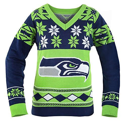 261dee447aa Seattle Seahawks Crazy Christmas Sweaters