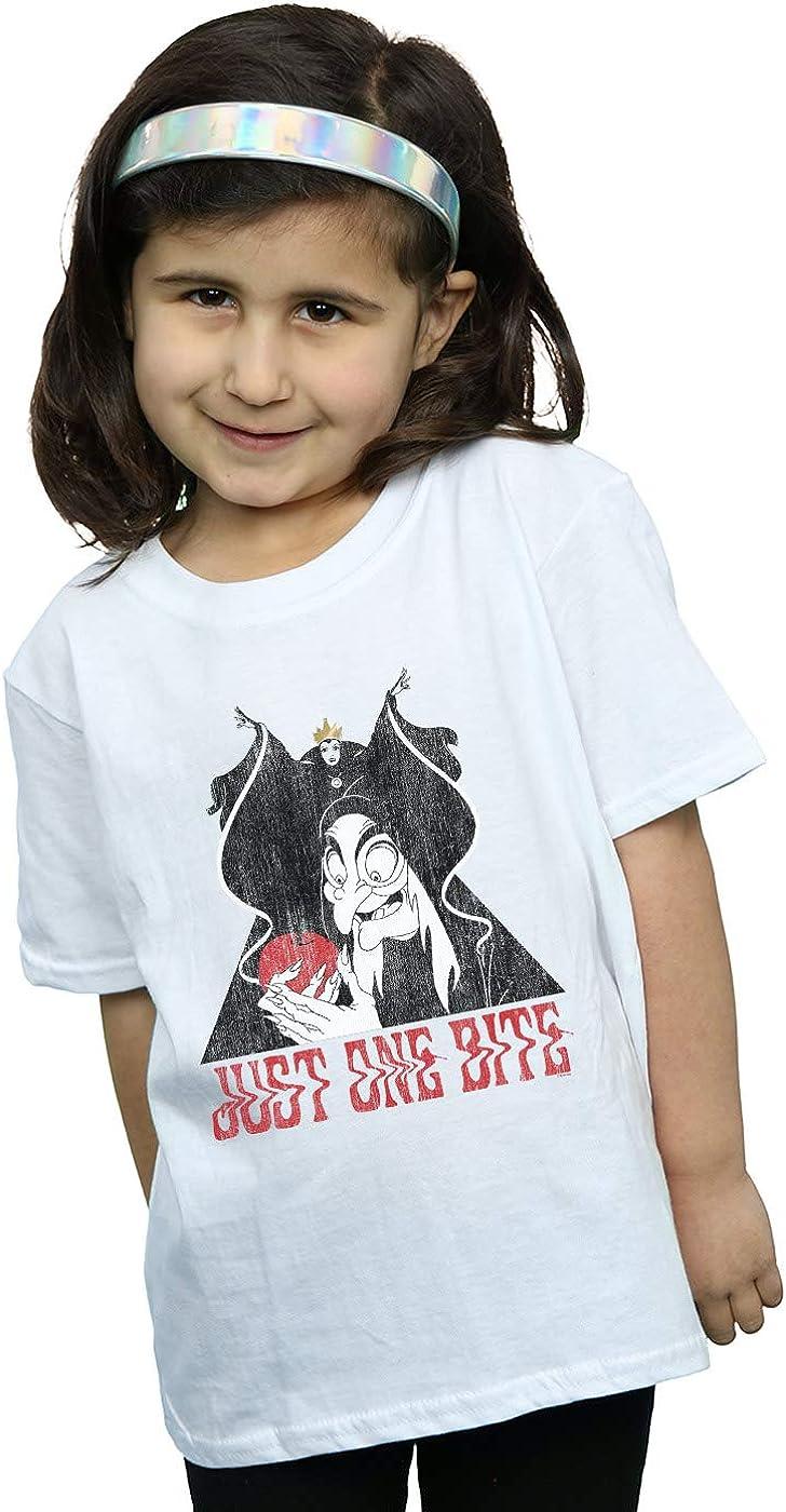 Disney Snow White One Bite Girl/'s T-Shirt