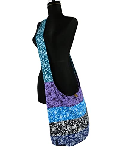 BenThai Products Hippie Hobo Sling Crossbody Bag Messenger Purse ...
