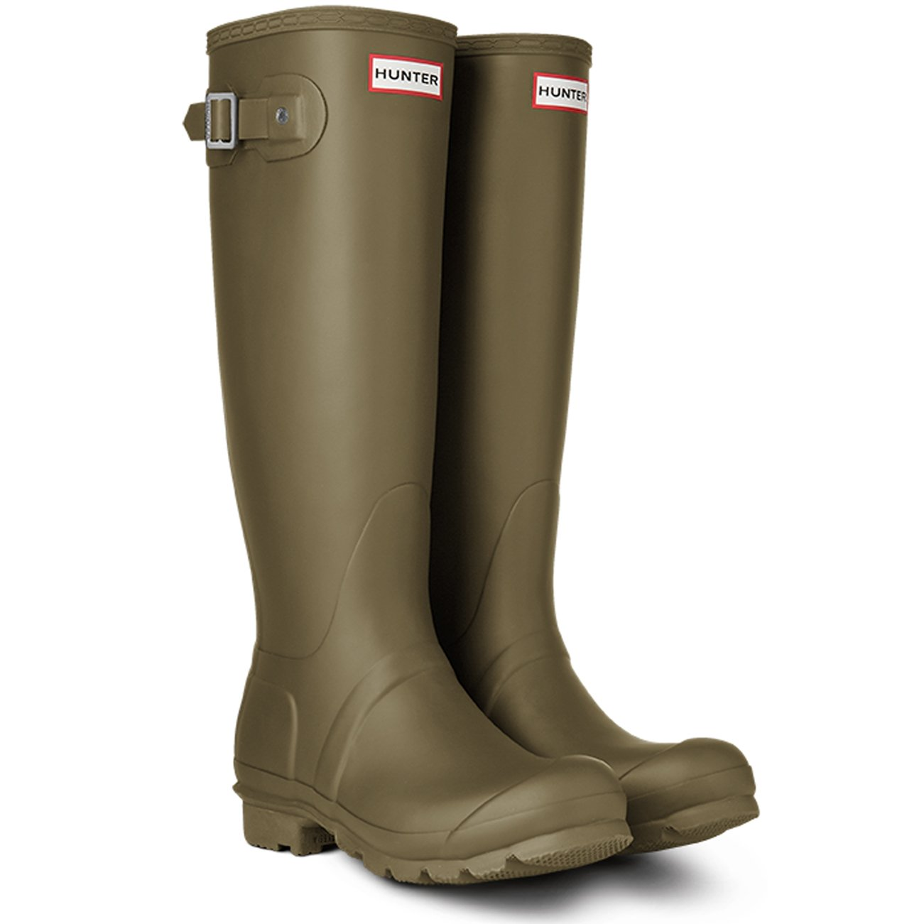 Hunter Damen Original Tall Gummistiefel, Green, Medium WFT1000RMA HGR