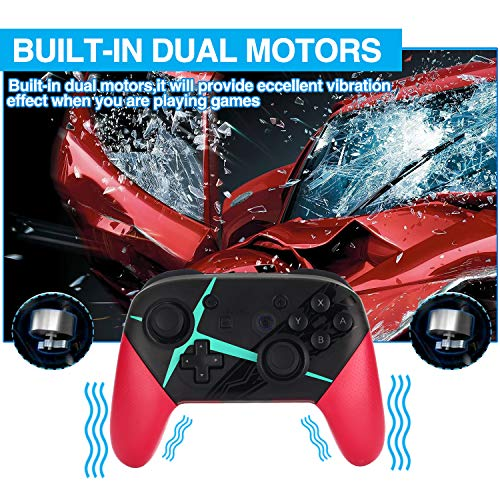 Railay Wireless Controller for Nintendo Switch/Switch lite,Pro Controller Bluetooth Gamepad Joypad
