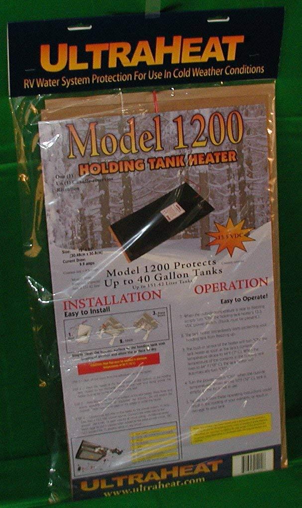UltraHeat AMM1200 13.5 VDC 40 Gallon RV Tank Heater