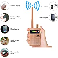 Anti Spy Wireless RF Signal Detector Set Bug GPS Camera Signal Detector,for Hidden Camera GSM Listening Device GPS Radar Radio Scanner Wireless Signal Device Finder …
