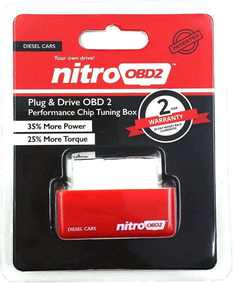 Sharplace Nitro OBD2 Plug /& Drive Performance Chip Tuning Bo/îte pour Camionnette De Voiture