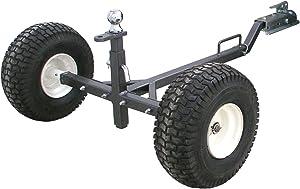 Tow Tuff TMD-800ATV ATV Weight Distributing Adjustable Trailer Dolly , Black