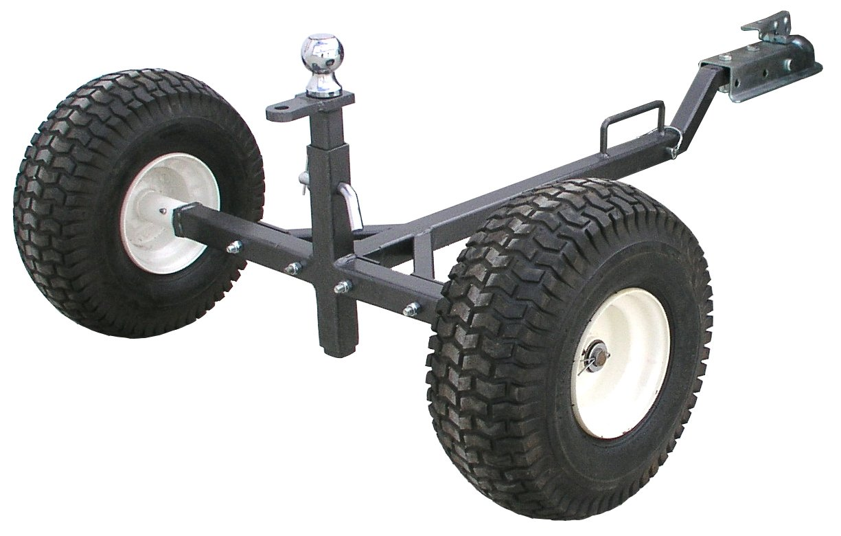 Tow Tuff TMD-800ATV ATV Weight Distributing Adjustable Trailer Dolly by Tow Tuff