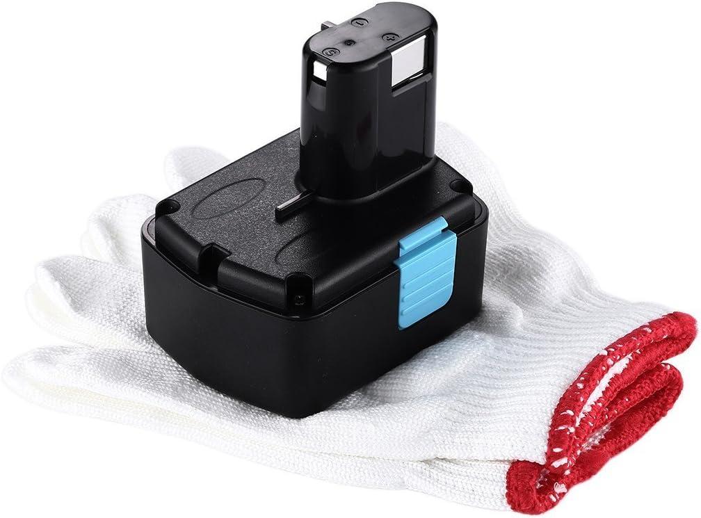 EB 1414S EB 14B Powerextra 14.4v 2500mah Power Tool Replacement Battery Compatible with Hitachi EB1414S EB 1414 EB 14S 324367 EB 1424